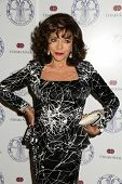LOS ANGELES - APR 22:  Joan Collins at the Women's Guild Cedars-Sinai Luncheon at Beverly Hills Hote