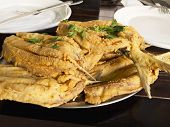 Fried sardine - restaurant