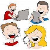 An image of digital communication.