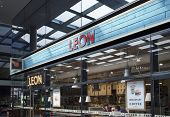 LONDON, UK - APRIL 15, 2014: Leon is a restaurant group, based in London, specialising in seasonal,