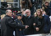 Brian Mulroney at Jim Flaherty State Funeral in Toronto