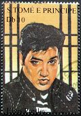 Presley S.tome Stamp#8