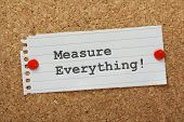 Measure Everything!