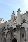 Palace Of The Popes (palais Des Papes) In Avignon