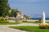 The old castle of Corfu Greece