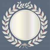 Laurel Wreath In Silver