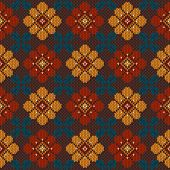 Folk Seamless Pattern Ornament. Ethnic Ornament