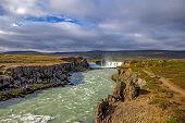 Waterfall Landscape In Iceland4