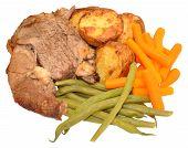 Roast Lamb Meal
