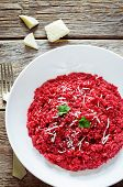 Risotto With Beetroom