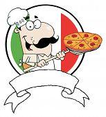 Cartoon Proud Chef