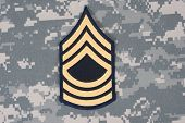 Us Army Uniform With Sergeant Rank Patch