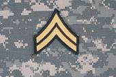 Us Army Uniform With Corporal Rank Patch