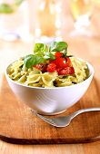 Bowl Of Farfalle Pasta