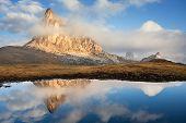 Passo Giau and Cima ra Gusela, Dolomites