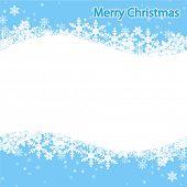 Illustration Snowflake, Christmas background.