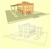 Industrial Building In 3D Stiile
