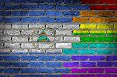 Dark Brick Wall - Lgbt Rights - Nicaragua