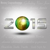 World Globe New Year 2015