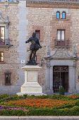 Statue Of Don Alvaro De Bazan, Madrid