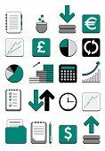 finance web icons