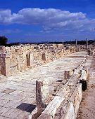 Roman ruins, Kourion, Cyprus.