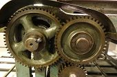 Vintage Machinery With Gears