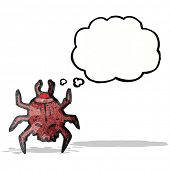 spooky beetle cartoon