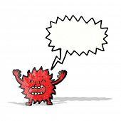furry little monster cartoon