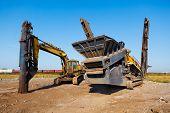 heavy building machines
