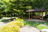 The Pavilion In Japanese Garden