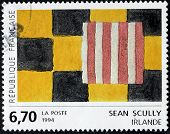 Sean Scully Stamp