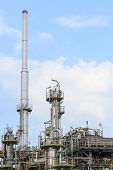 industrial of Oil Refinery Plant