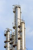 Oil Refining Tower, Industrial