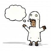 cartoon ghost costume