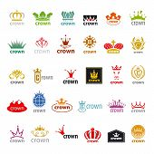 Biggest Collection Of Vector Icons Crown
