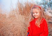 Girl In A Red Poncho