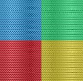 vector seamless knitted pattern background