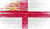 foto of sark  - Flag of Sark with old texture - JPG