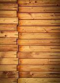 Horizontal Wooden Paneling Profile