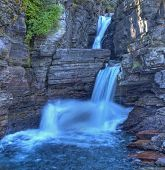 St Mary Falls, Glacier National Park