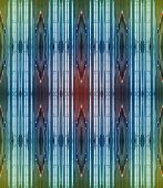 an Abstract Pattern Of Brilliant Bands