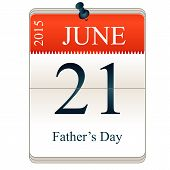 Calendar Of Father's Day