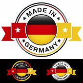Germany Made In Badge
