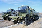 Army Fuel Trucks