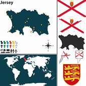 Map Of Jersey