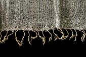 Elegant  Linen Fabric Texture Background