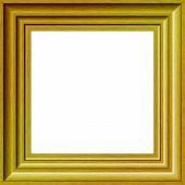 Gold Wood Photograph Frame.