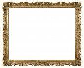 Retro Gold Photograph Frame.