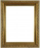 Gold Metal Photograph Frame.